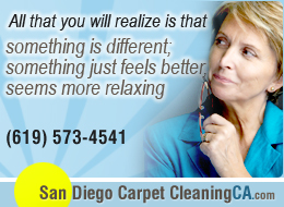 carpet steam cleaning El Cajon, CA