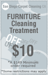 San Diego furniture Cleaning & treatment