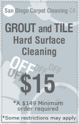 San Diego grout cleaning tile in California